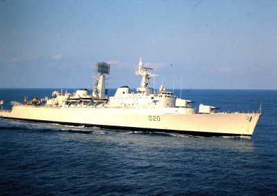 HMS Fife in the Caribbean