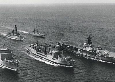 HMAS Melbourne with the Australian Fleet