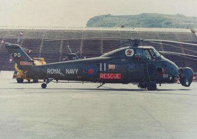 A 772 Squadron rescue aircraft