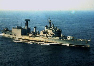 HMS Blake - home to 820 Squadron